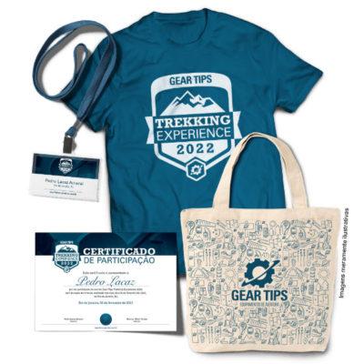 Kit do Participante Gear Tips Trekking Experience 2022