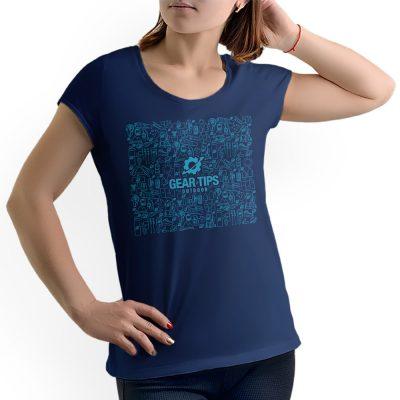 Camisa Feminina - Equipamentos para Trekking - Azul