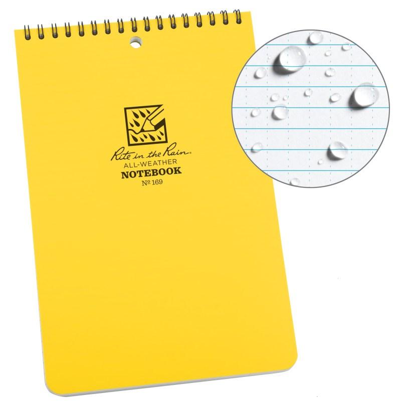 Caderneta impermeável Rite In The Rain