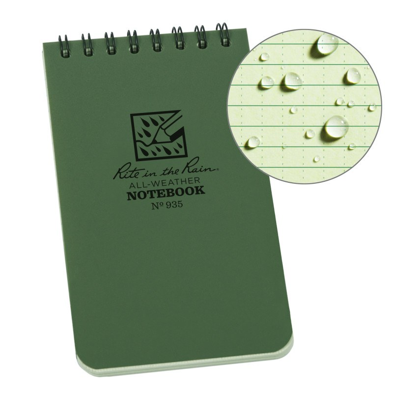 Caderno Impermeável Rite In the Rain - Top Spiral 3x5