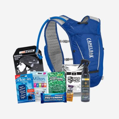 Kit de equipamentos Gear Tips Trail Run Experience 2021
