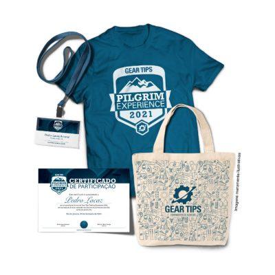 Gear Tips Pilgrim Experience 2021 - Kit do Participante