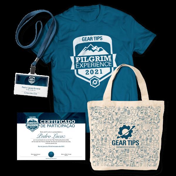 Kit do Participante Gear Tips Pilgrim Experience 2021